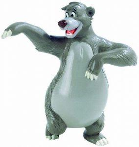 Figura y muñeco de Baloo de Bullyland - Figuras coleccionables, juguetes y muñecos del Libro de la Selva - Muñecos de Disney