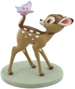Figura y muñeco de Bambi con mariposa de Disney - Figuras coleccionables, juguetes y muñecos de Bambi - Muñecos de Disney