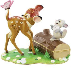 Figura y muñeco de Bambi y Tambor de Caja de joyas - Figuras coleccionables, juguetes y muñecos de Bambi - Muñecos de Disney