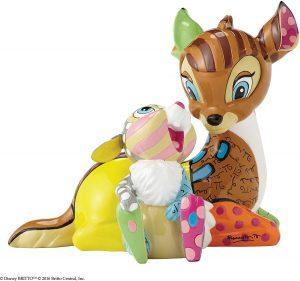 Figura y muñeco de Bambi y Tambor de Disney Britto - Figuras coleccionables, juguetes y muñecos de Bambi - Muñecos de Disney