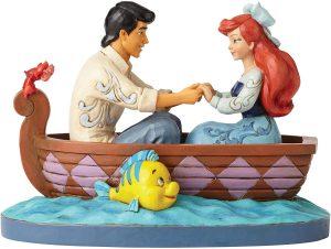 Figura y muñeco de Beso de Ariel y el Prínicipe de la Sirenita de Disney Traditions - Figuras coleccionables, juguetes y muñecos de la Sirenita - Muñecos de Disney