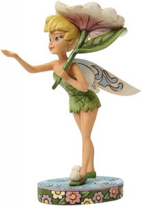 Figura y muñeco de Campanilla con Flor de Enesco de Disney Traditions - Figuras coleccionables, juguetes y muñecos de Peter Pan - Muñecos de Disney