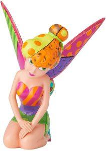 Figura y muñeco de Campanilla sentada de Enesco de Disney Britto - Figuras coleccionables, juguetes y muñecos de Peter Pan - Muñecos de Disney