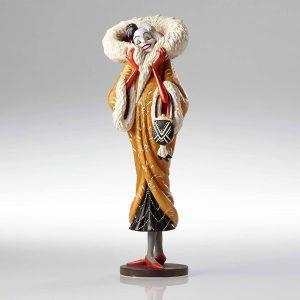 Figura y muñeco de Cruella de Vil con vestido de Enesco - Figuras coleccionables, juguetes y muñecos de los 101 dálmatas - Muñecos de Disney