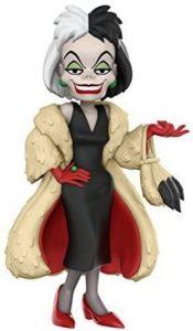 Figura y muñeco de Cruella de Vil de Rock Candy - Figuras coleccionables, juguetes y muñecos de los 101 dálmatas - Muñecos de Disney