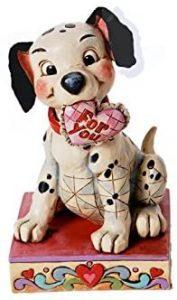 Figura y muñeco de Dálmata con corazón de Disney Traditions - Figuras coleccionables, juguetes y muñecos de los 101 dálmatas - Muñecos de Disney