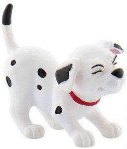 Figura y muñeco de Dálmata de Bullyland - Figuras coleccionables, juguetes y muñecos de los 101 dálmatas - Muñecos de Disney