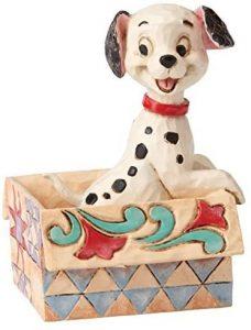 Figura y muñeco de Dálmata de Disney Traditions - Figuras coleccionables, juguetes y muñecos de los 101 dálmatas - Muñecos de Disney