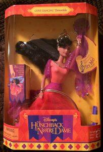 Figura y muñeco de Esmeralda de Gobbo - Figuras coleccionables, juguetes y muñecos del Jorobado de Notre Dame - Muñecos de Disney