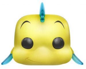 Figura y muñeco de Flounder de FUNKO POP - Figuras coleccionables, juguetes y muñecos de la Sirenita - Muñecos de Disney