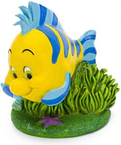 Figura y muñeco de Flounder de Penn-Plax - Figuras coleccionables, juguetes y muñecos de la Sirenita - Muñecos de Disney