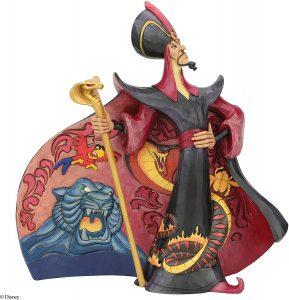 Figura y muñeco de Jafar de Disney Traditions - Figuras coleccionables, juguetes y muñecos de Aladdin - Muñecos de Disney