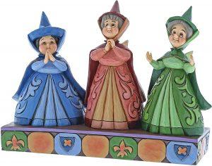 Figura y muñeco de Las Hadas Flora, Fauna y Serena de Enesco Disney Traditions - Figuras coleccionables, juguetes y muñecos de la Bella Durmiente - Muñecos de Disney