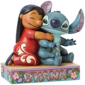 Figura y muñeco de Lilo y Stitch Abrazo de Enesco de Disney Traditions - Figuras coleccionables, juguetes y muñecos de Lilo y Stich - Muñecos de Disney
