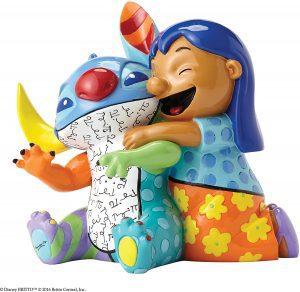 Figura y muñeco de Lilo y Stitch de Disney Britto sentado - Figuras coleccionables, juguetes y muñecos de Lilo y Stich - Muñecos de Disney