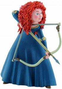 Figura y muñeco de Mérida con arco de Bullyland - Figuras coleccionables, juguetes y muñecos de Brave - Muñecos de Disney