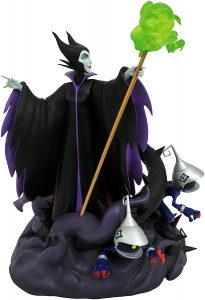 Figura y muñeco de Maléfica de Diamond Select - Figuras coleccionables, juguetes y muñecos de la Bella Durmiente - Muñecos de Disney