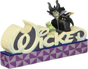 Figura y muñeco de Maléfica de Wicked de Enesco - Figuras coleccionables, juguetes y muñecos de la Bella Durmiente - Muñecos de Disney