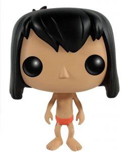 Figura y muñeco de Mowgli de FUNKO POP - Figuras coleccionables, juguetes y muñecos del Libro de la Selva - Muñecos de Disney