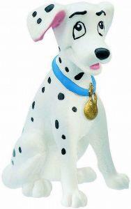 Figura y muñeco de Perdita de Bullyland - Figuras coleccionables, juguetes y muñecos de los 101 dálmatas - Muñecos de Disney