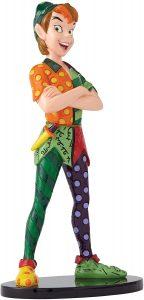 Figura y muñeco de Peter Pan de Enesco de Disney Britto - Figuras coleccionables, juguetes y muñecos de Peter Pan - Muñecos de Disney