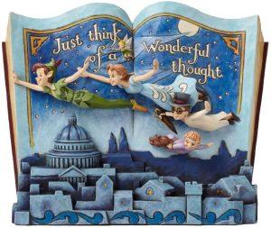 Figura y muñeco de Peter Pan volando con los niños perdidos de Disney Traditions - Figuras coleccionables, juguetes y muñecos de Peter Pan - Muñecos de Disney