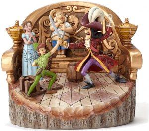 Figura y muñeco de Peter Pan vs Garfio de Disney Traditions - Figuras coleccionables, juguetes y muñecos de Peter Pan - Muñecos de Disney