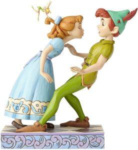 Figura y muñeco de Peter Pan y Wendy un beso Inesperado de Enesco de Disney Traditions - Figuras coleccionables, juguetes y muñecos de Peter Pan - Muñecos de Disney