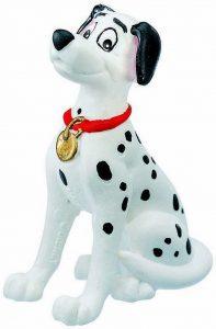 Figura y muñeco de Pongo de Bullyland - Figuras coleccionables, juguetes y muñecos de los 101 dálmatas - Muñecos de Disney