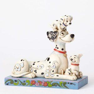 Figura y muñeco de Pongo de Disney Traditions - Figuras coleccionables, juguetes y muñecos de los 101 dálmatas - Muñecos de Disney