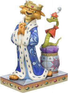 Figura y muñeco de Rey Juan y Sir Hiss de Enesco de Disney Traditions - Figuras coleccionables, juguetes y muñecos de Robin Hood - Muñecos de Disney