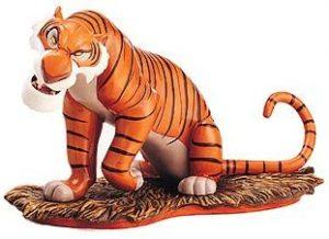 Figura y muñeco de Shere Khan de Walt Disney Classics Collection - Figuras coleccionables, juguetes y muñecos del Libro de la Selva - Muñecos de Disney