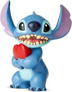 Figura y muñeco de Stitch con Corazón de Enesco de Disney Showcase - Figuras coleccionables, juguetes y muñecos de Lilo y Stich - Muñecos de Disney