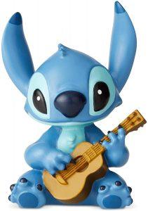 Figura y muñeco de Stitch con guitarra de Enesco de Disney Traditions - Figuras coleccionables, juguetes y muñecos de Lilo y Stich - Muñecos de Disney