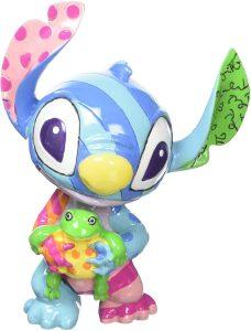 Figura y muñeco de Stitch de Disney Britto con rana - Figuras coleccionables, juguetes y muñecos de Lilo y Stich - Muñecos de Disney