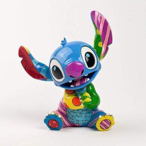 Figura y muñeco de Stitch de Disney Britto sentado - Figuras coleccionables, juguetes y muñecos de Lilo y Stich - Muñecos de Disney