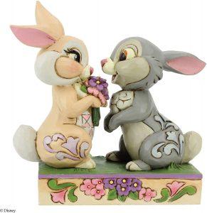 Figura y muñeco de Tambor y Miss Bunny de Enesco - Figuras coleccionables, juguetes y muñecos de Bambi - Muñecos de Disney