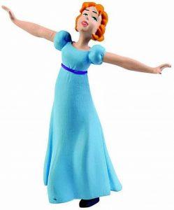 Figura y muñeco de WEndy de Bullyland - Figuras coleccionables, juguetes y muñecos de Peter Pan - Muñecos de Disney