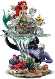 Figura y muñeco de la Sirenita de The Bradford Exchange - Figuras coleccionables, juguetes y muñecos de la Sirenita - Muñecos de Disney