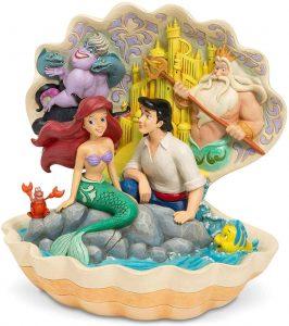 Figura y muñeco de la Sirenita en una Concha de Disney Traditions - Figuras coleccionables, juguetes y muñecos de la Sirenita - Muñecos de Disney