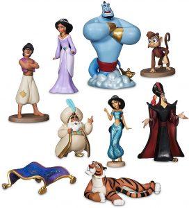 Figura y muñeco de personajes de Aladdin de Disney - Figuras coleccionables, juguetes y muñecos de Aladdin - Muñecos de Disney