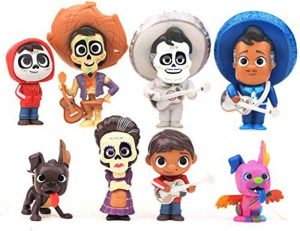 Figura y muñeco de personajes de Coco de LuLezon - Figuras coleccionables, juguetes y muñecos de Coco - Muñecos de Disney Pixar