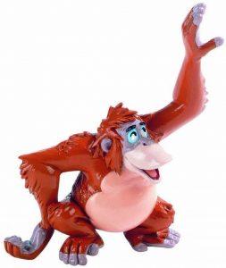 Figura y muñeco del Rey Louie de Bullyland - Figuras coleccionables, juguetes y muñecos del Libro de la Selva - Muñecos de Disney