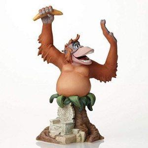 Figura y muñeco del Rey Louie de Enesco Disney Grand Jester - Figuras coleccionables, juguetes y muñecos del Libro de la Selva - Muñecos de Disney