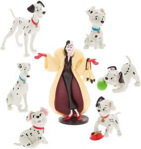 Figura y muñeco personajes de los 101 dálmatas de Disney - Figuras coleccionables, juguetes y muñecos de los 101 dálmatas - Muñecos de Disney
