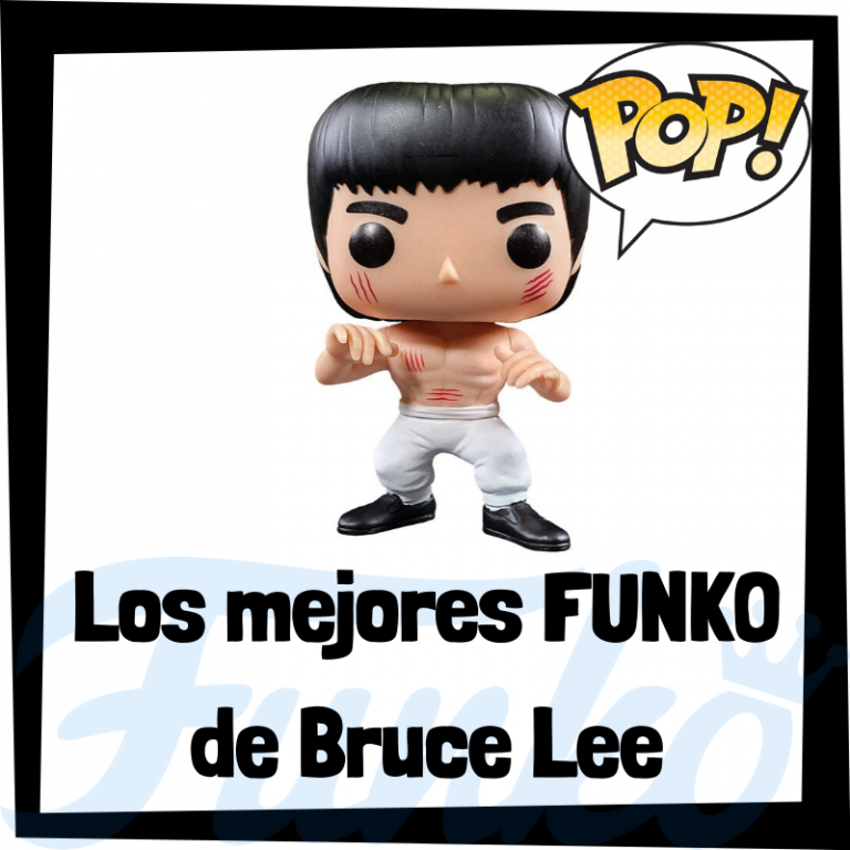 Figuras FUNKO POP de Bruce Lee - Funko POP de Bruce Lee
