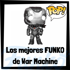 Figuras FUNKO POP de War Machine - Funko POP de Máquina de Guerra