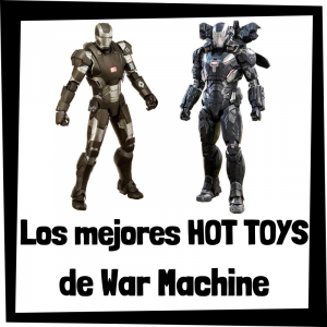 Figuras Hot Toys de Máquina de Guerra - War Machine - Hot Toys de figuras de colección de War Machine