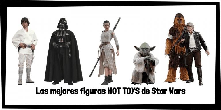 Figuras coleccionables HOT TOYS de personajes de Star Wars - Figuras HOT TOYS de colección de Star Wars