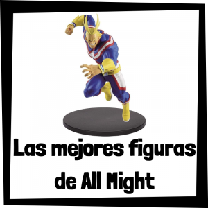 Figuras coleccionables de All Might de My Hero Academia